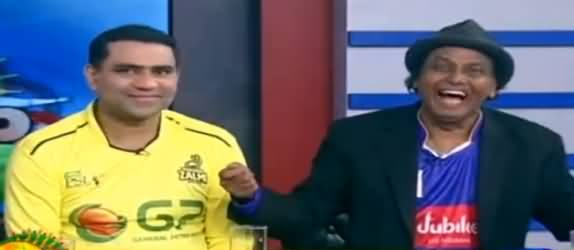 Dunya News PSL Special Transmission (Comedy + Cricket) - 5th March 2017