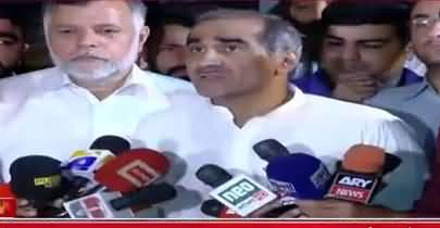 Election Comission Takes Notice of Khawaja Saad Rafique's Statement