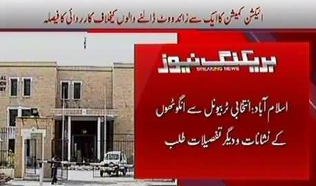 Election Commission Going To Take Action Against Those Who Cast More Than one Vote