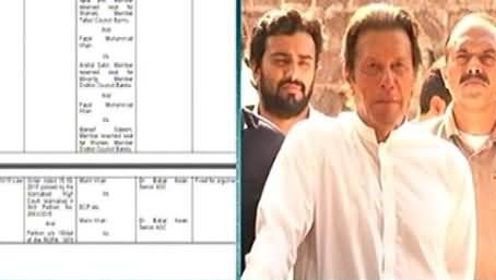 Election Commission To Hear Imran Khan's Disqualification Case Tomorrow
