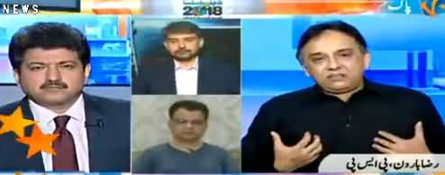 Election Debate with Hamid Mir (Election 2018) - 1st July 2018