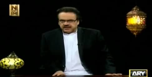 End Of Time by Dr. Shahid Masood (The Final Call) [Episode-20] – 27th June 2016