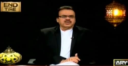 End Of Time by Dr. Shahid Masood (The Final Call) [Episode-3] – 9th June 2016