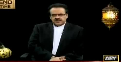 End Of Time by Dr. Shahid Masood (The Final Call) [Episode-9] – 15th June 2016