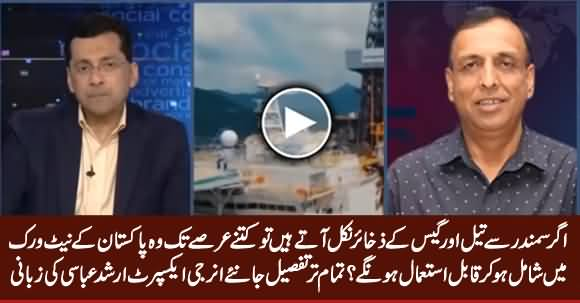 Energy Expert Arshad Abbasi Telling The Details What Will Happen if Oil & Gas Reserves Discover