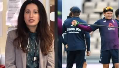 England Cricket Team Wore Shirts with Pakistani Female Doctor's Name