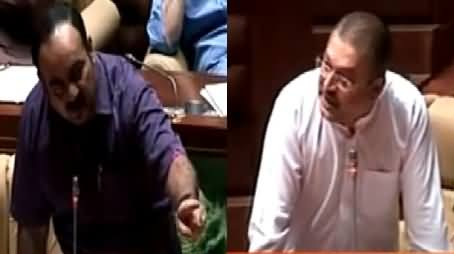 Excellent Chitrol of MQM By Sharjeel Memon in Sindh Assembly, Must Watch