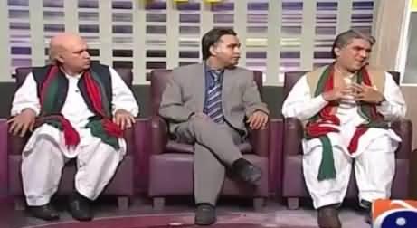 Excellent Double Role of Shah Mahmood Qureshi & Ch. Sarwar Vs Ayaz Sadiq