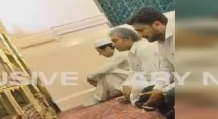 Exclusive Footage of Imran Khan in Madina Munawara