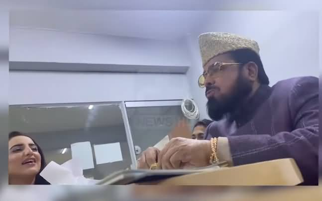 EXCLUSIVE: Hareem Shah Leaked Another Video of Mufti Abdul Qavi