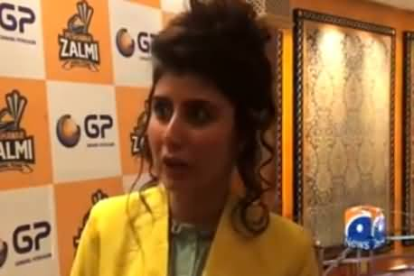 Exclusive Talk of Zalmi Brand Ambassador Najeeba Faiz Who Went Viral on Social Media