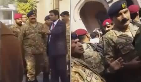 Exclusive Video of General Raheel Sharif's Warm Welcome in GC University Lahore