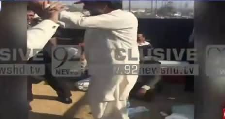 Exclusive Video of Qamar Zaman Kaira's Dance on Container in PPP's Rally
