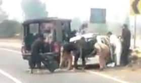 Exclusive Video of Sahiwal Incident Righter After The Firing