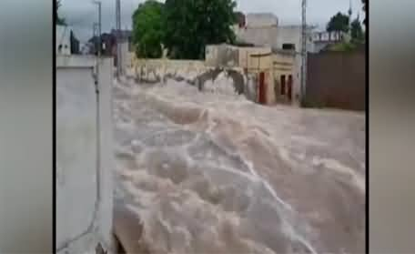 Extreme Floods, Landslide At Tourist Spots In Northern Areas