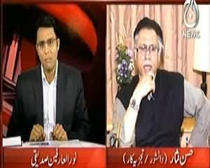 Face 2 Face (Hassan Nisar Exclusive Interview on Current Issues) – 1st February 2014