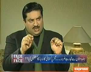 Face To Face (Khurram Dastagir Exclusive Interview) – 13th March 2014