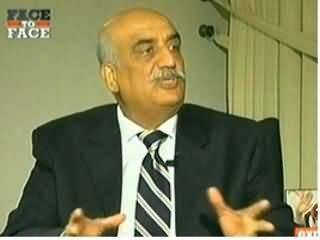 Face To Face (Khursheed Shah Exclusive Interview) - 30th January 2014
