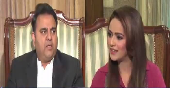 Face to Face with Ayesha Bakhsh (Fawad Chaudhry Exclusive Interview) – 3rd March 2019