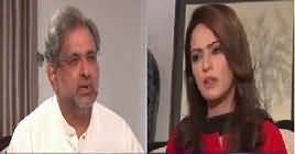Face to Face with Ayesha Bakhsh (Shahid Khaqan Abbasi Exclusive) – 12th July 2019