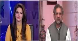 Face to Face with Ayesha Bakhsh (Shahid Khaqan Abbasi Exclusive Interview) – 9th November 2018