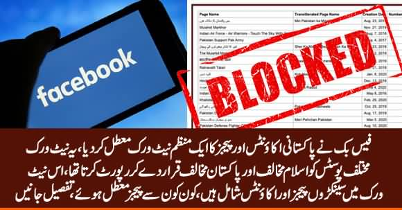 Facebook Suspends An Organized Network of Pakistani Accounts & Pages