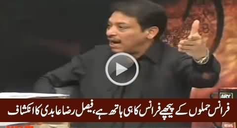Faisal Raza Abidi Exposed Drama of Paris Attacks with Solid Arguments