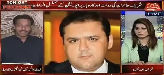 Faisal Raza Abidi Telling Why Shahbaz Shaif's Name Not in Panama Leaks
