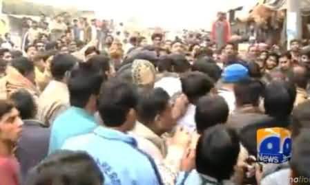 Faisalabad Mein Loogon Ne Tashadud Kar Ke 3 Daaku Maar Diye