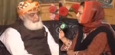 Faisla Aap Ka (Fazlur Rehman Exclusive Interview From Azadi March) - 31st October 2019