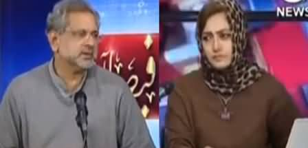 Faisla Aap Ka (Shahid Khaqan Abbasi Interview) - 19th January 2021