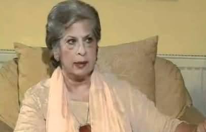 Famous Personality Syeda Abida Hussain May Join Pakistan Tehreek e Insaf