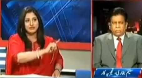Fareeha Idrees Badly Criticizing Nawaz Sharif's Claims Before Elections & His Bad Performance