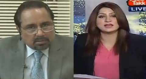 Fareeha Idrees Shuts The Mouth of Mian Ateeq By Showing Footage of MQM's Rally