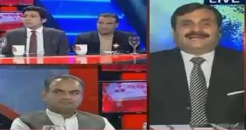Fareeha Idrees Taunts Shaukat Basra When He Tried To Troll PTI's Faisal Wada