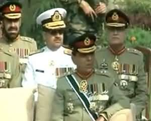 Farewell Ceremony of General Khalid Shamim Wain CJCS (Chairman Joints Chiefs of Staff Committee) - 7th October 2013