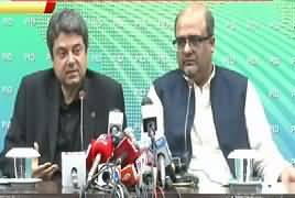 Farogh Naseem & Shahzad Akbar Press Conference on Judge Arshad Malik Removal – 12th July 2019