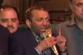 Farooq Sattar Press Conference – 10th February 2018