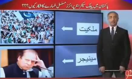 Farrukh Saleem Presentation on How Govt Destroying Govt Institutions