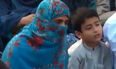 Farzana Majeed Balouch Leader of Missing Persons Criticising Media and Pakistan Govt