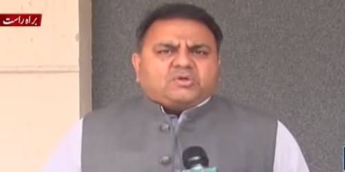 Fawad Chaudhry Criticizes Sindh Govt on Imposing Lockdown Across Sindh