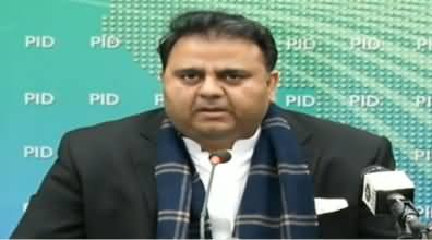 Fawad Chaudhry Press Conference in Islamabad - 10th January 2019