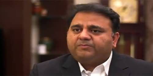 Fawad Chaudhry's Tweet on FIA's Action of Stopping Shahbaz Sharif From Leaving Pakistan