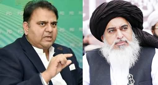 Fawad Chaudhry's Tweet on Large Gathering in Khadim Rizvi's Funeral