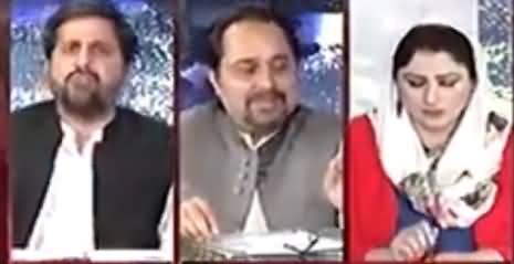 Fayaz-ul-Hasan Chohan Befitting Reply to Malik Ahmad Khan on Foreign Funding Allegations