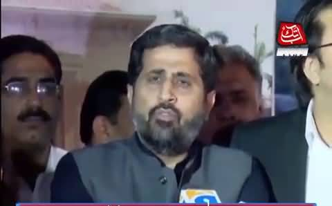 Fayaz ul Hassan Chohan Bashing PMLN Over Strike in Assembly