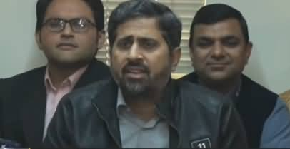 Fayaz Ul Hassan Chohan Press Conference in Lahore - 2nd January 2018