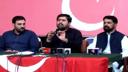 Fayyaz ul Hassan Chohan Press Conference Against Hanif Abbasi - 23rd October 2014
