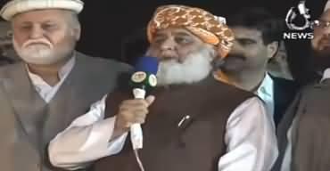 Fazlur Rehman's Last Speech To Azadi March, Announcing To End Dharna - 13th November 2019