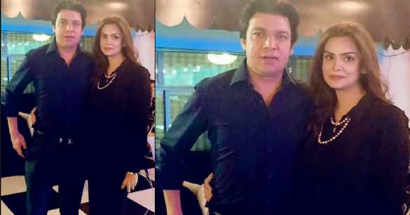Female Anchor Saadia Afzaal Got Married to Faisal Vawda